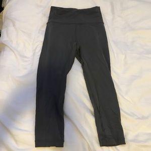 Lululemon Gray Align Crop Leggings
